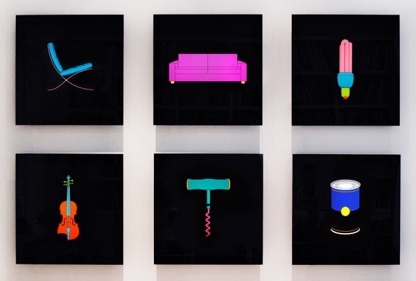 Light Series by Michael Craig-Martin