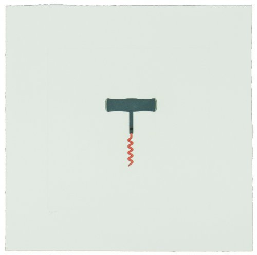 The Catalan Suite Ii – Corkscrew by Michael Craig-Martin