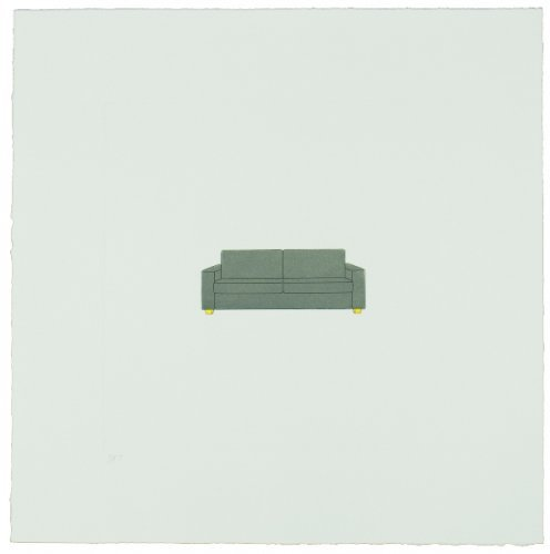The Catalan Suite Ii – Sofa by Michael Craig-Martin