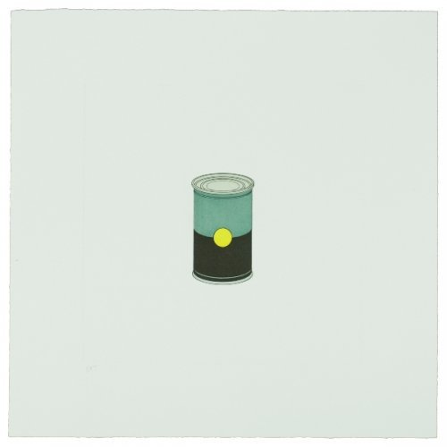 The Catalan Suite Ii – Soup Can by Michael Craig-Martin