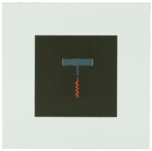 The Catalan Suite I – Corkscrew by Michael Craig-Martin
