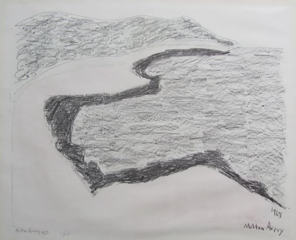 Gray Sea by Milton Avery