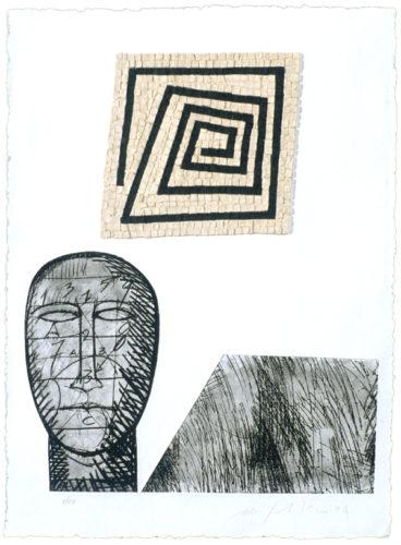 California Suite No. 4 by Mimmo Paladino at
