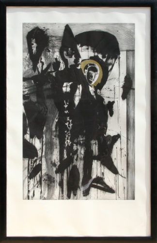 Poeta Occidentale – Triptych #2 by Mimmo Paladino at