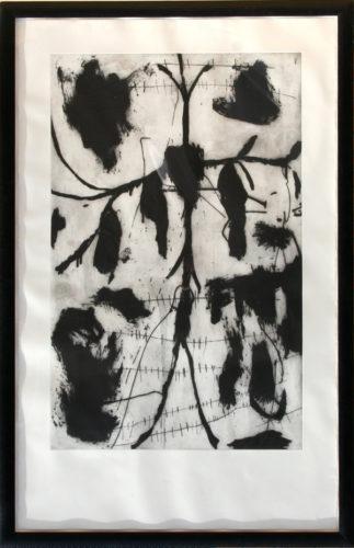 Vespero – Triptych #1 by Mimmo Paladino