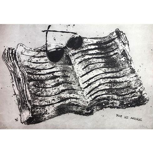 Pour Les Aveugles by Miquel Barcelo