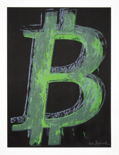 Bitcoin – State Iv by Mr. Brainwash
