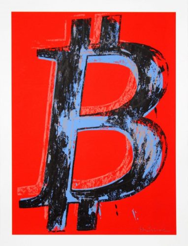 Bitcoin – State I by Mr. Brainwash
