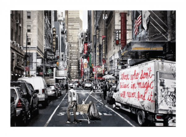Broadway by Mr. Brainwash