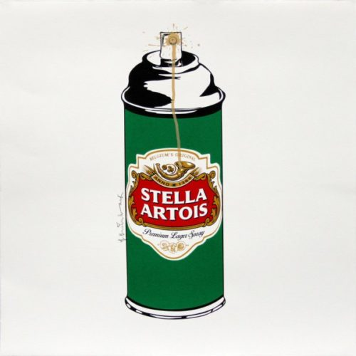 Stella Spray by Mr. Brainwash at
