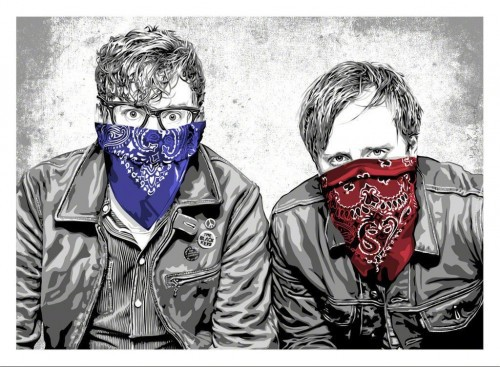 The Black Keys by Mr. Brainwash