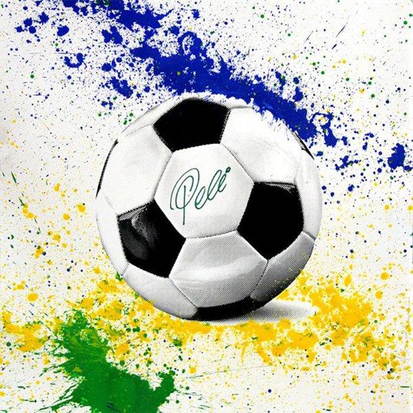 The King Pelé: Futbol by Mr. Brainwash