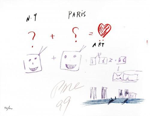 Ny + Paris = Art by Nam June Paik at