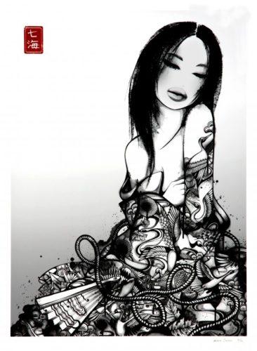 Geisha Yume by Nanami Cowdroy