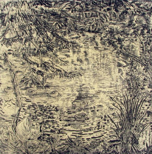 Pond's Edge Ii by Nancy Friese