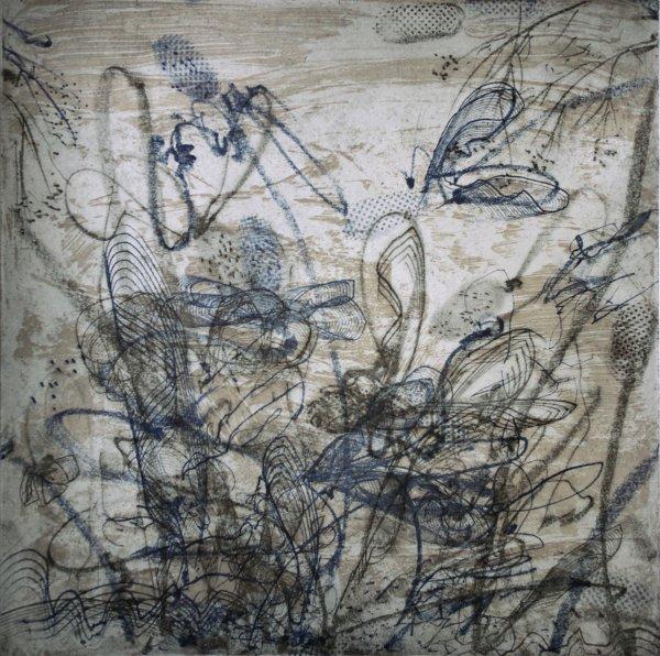 Wintery  Earth by Nancy Lasar