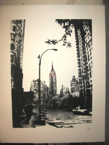 Tma Empire State by Nick Walker at Brandler Galleries
