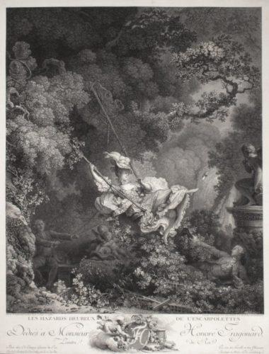 Les Hazards Heureux De L'escarpolette(s) (4th State) by Nicolas De Launay at
