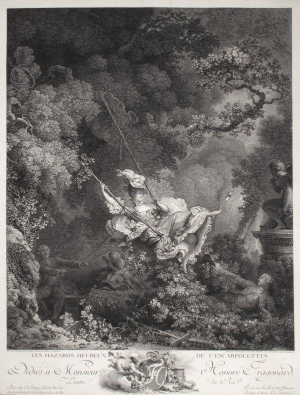 Les Hazards Heureux De L'escarpolette(s) (4th State) by Nicolas De Launay