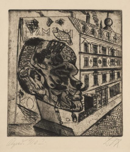 Syphilitiker (Man with Syphylis) by Otto Dix at
