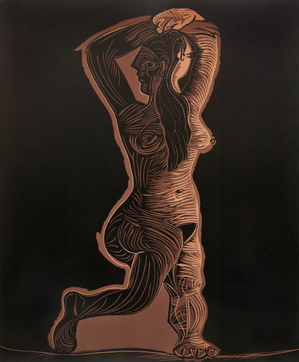 Large Nude, Dancing by Pablo Picasso
