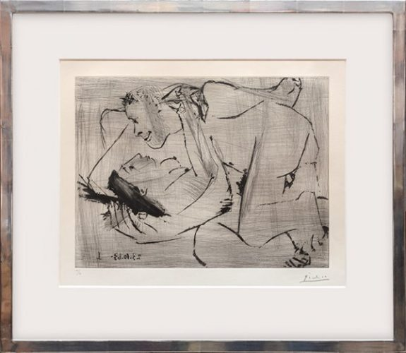 L'étreinte VI. by Pablo Picasso at Pablo Picasso