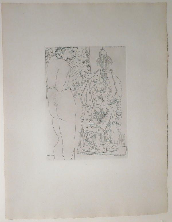 Marie-thérèse Considérant Son Effigie Surréaliste by Pablo Picasso