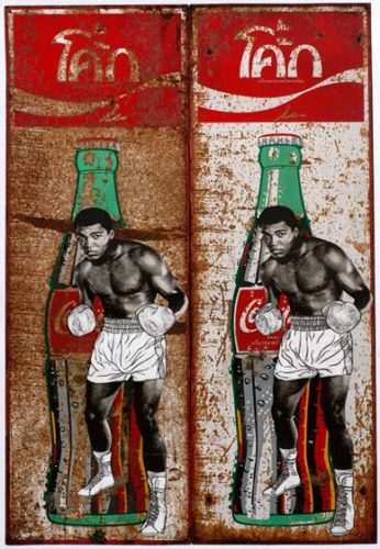 Double Ali On Coke by Pakpoom Silaphan