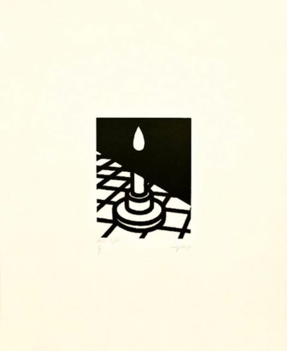 Candle by Patrick Caulfield at
