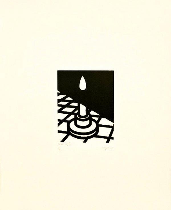 Candle by Patrick Caulfield