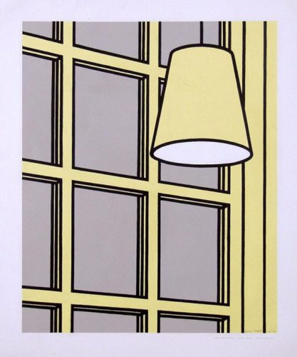 Interior: Morning by Patrick Caulfield at