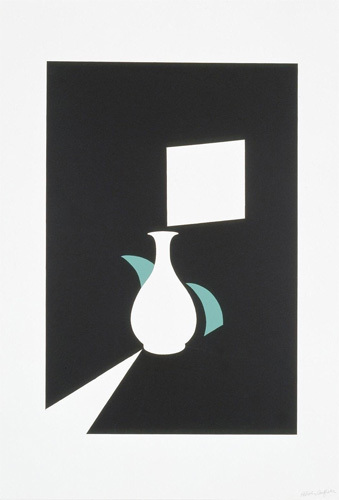 Lung Ch'uan Ware And Window by Patrick Caulfield