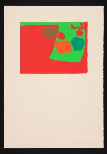 Mini February V 1974 by Patrick Heron