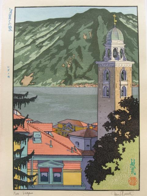 Lugano by Paul Binnie