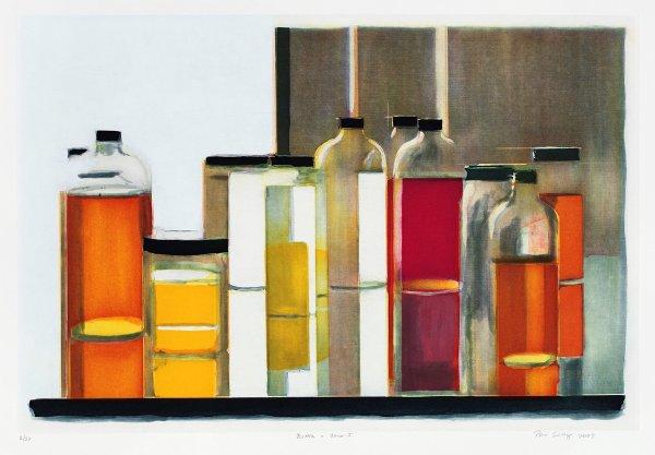 Bottles & Jars I by Peri Schwartz
