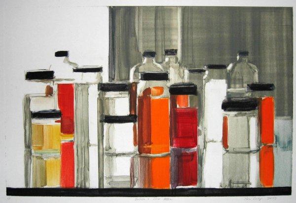 Bottles & Jars Xiiia by Peri Schwartz
