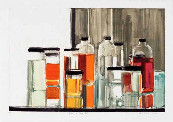 Bottles & Jars Xv by Peri Schwartz