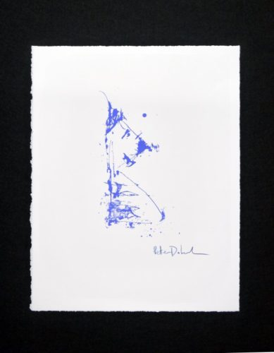 Chien Bleu by Peter Doherty at RedHouse Originals Gallery