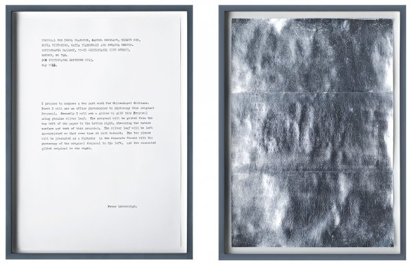 Proposal For Whitechapel Edition by Peter Liversidge