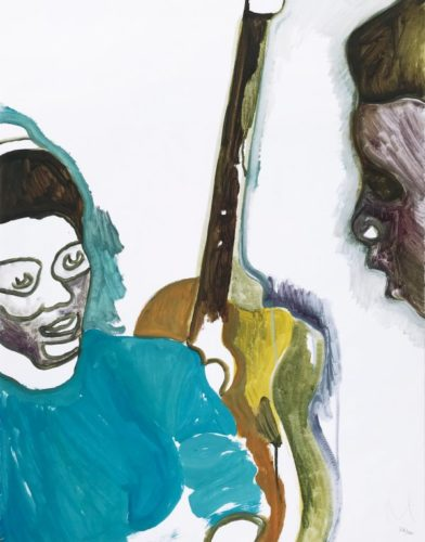 Two Students by Peter Doig at