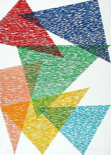 Vis-a-vis by Piero Dorazio