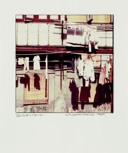Hanging Clothes by Robert Rauschenberg