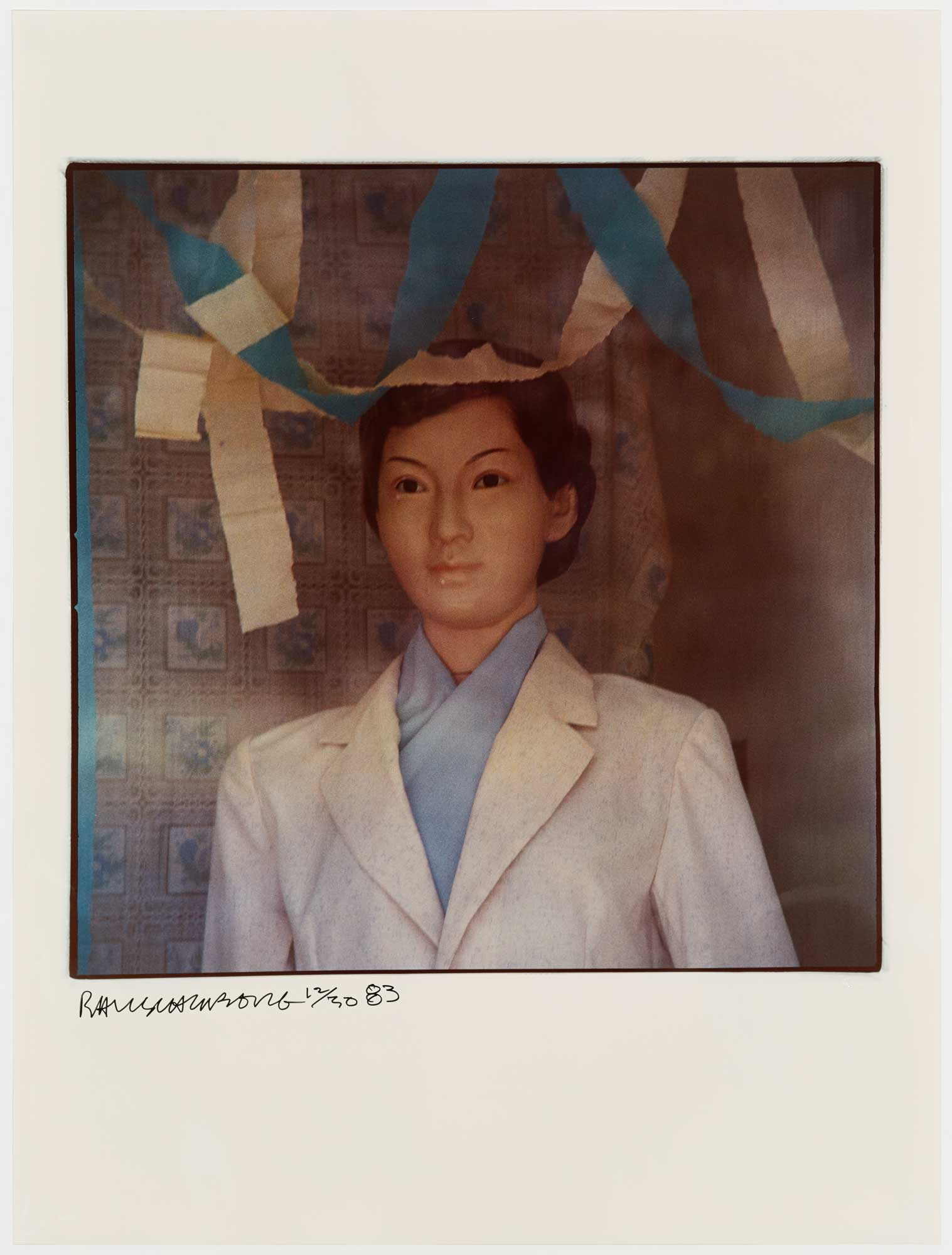 Blue Lady by Robert Rauschenberg