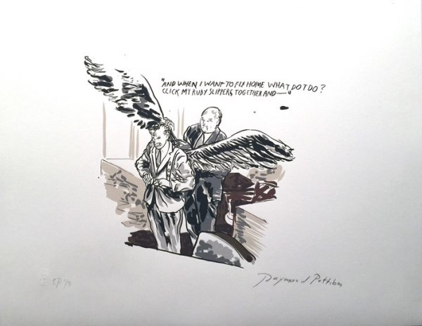 Click My Ruby Slipppers by Raymond Pettibon
