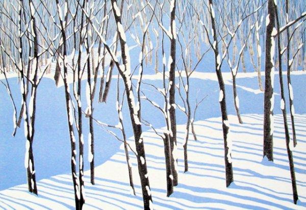Landscape / Blue Shadow by Rica Bando