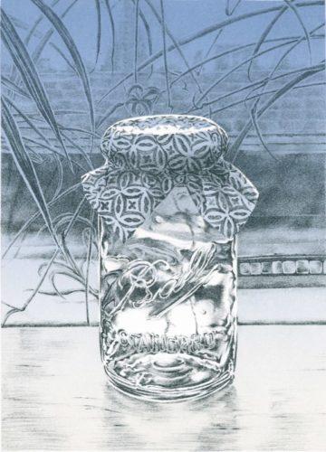 Mason Jar / Italian Paper by Rica Bando