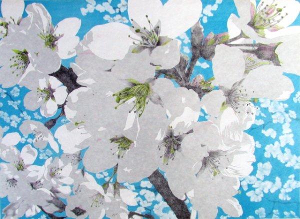 Yoshino Cherry Blossoms by Rica Bando