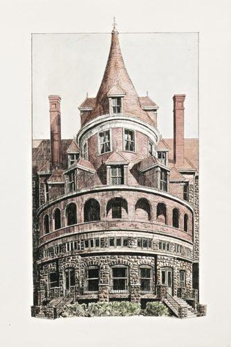 Bryn Mawr Hotel by Richard Haas at
