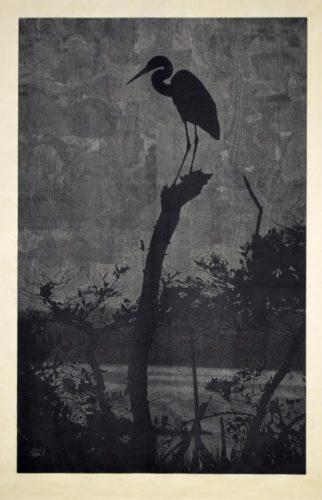 Bird In Tree by Richard Ryan at