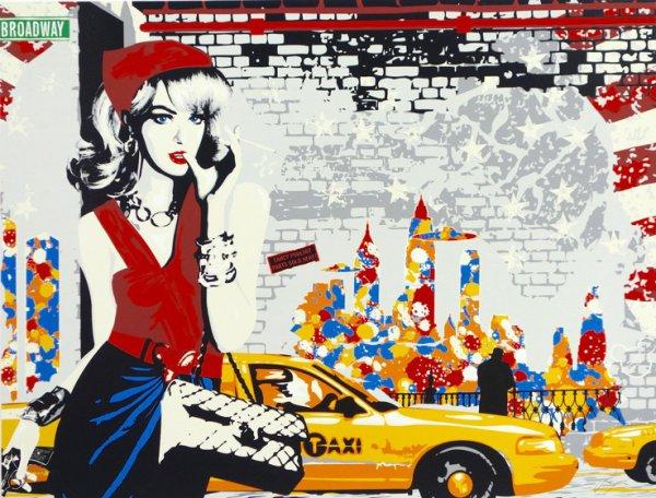 Thelma At Broadway by Richard Ryan